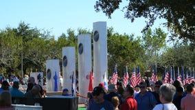 """Phoenix, †""""11/11/2017 de AZ/USA: Multidão e memorial da cerimônia do dia de veteranos completamente"""
