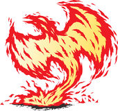 Phoenix αναγεννημένος Στοκ φωτογραφία με δικαίωμα ελεύθερης χρήσης