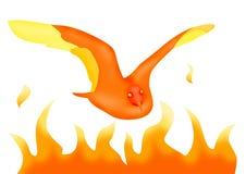 Phoenix ilustração stock