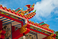 The Phoenix. Of joss house stock photo