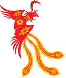 Phoenix. Rebirth Phoenix in oriental style Stock Photos