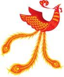 Phoenix. Rebirth Phoenix in oriental style Royalty Free Stock Photography
