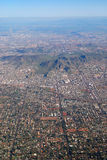 Phoenix Aerial View, Arizona Stock Photo