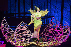 "Phoenix angel-Dance drama ""The Dream of Maritime Silk Road"" Stock Photos"