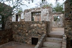 Phoenix Arizona Historic Landmark Scorpion Gulch stock photos