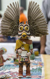Phoenix, Arizona, Hopi, indio americano, nativo americano, Kachina, muñeca,   artista, museo tradicional, oído, tallando, cuchillo Imágenes de archivo libres de regalías