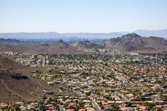 Phoenix Arizona horisont royaltyfri foto