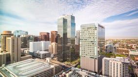 Phoenix, Arizona, paisaje urbano de los E.E.U.U. almacen de video