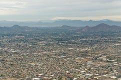 Phoenix Arizona from the Sky Stock Photography