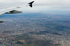 Phoenix Arizona from the Sky Royalty Free Stock Photography