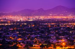 Phoenix Arizona Suburbs Royalty Free Stock Photos