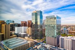 Phoenix, Arizona, USA cityscape royalty free stock image