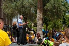 PHOENIX, ARIZONA-USA – MAY 18, 2019- Robert F. Kennedy Jr.  speaks at the Arizona March for Medical Freedom stock photos