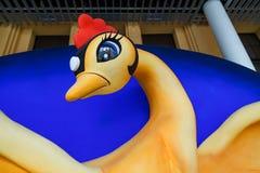 Phoenix Art Object at Kyoto International Manga Museum Royalty Free Stock Image