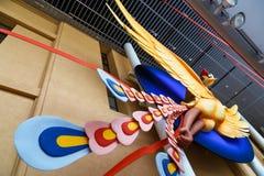 Phoenix Art Object på den Kyoto internationalen Manga Museum Fotografering för Bildbyråer
