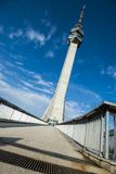 Phoenix - Avala TV tower in Belgrade, Serbia Royalty Free Stock Images