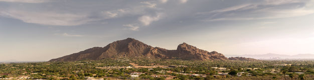 Phoenix, AZ, βουνό Camelback, Στοκ Εικόνες