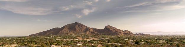 Phoenix, Az, montaña del Camelback, Foto de archivo