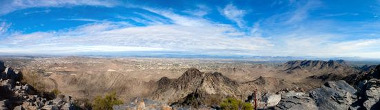 Phoenix, AZ Panorama Royalty Free Stock Images