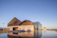 Phoenix AZ, USA - November 9, 2016: Tempe Center för konsterna Arkivfoton