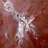 Phoenix bianca astratta Fotografia Stock Libera da Diritti