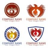 Phoenix Bird Concept Logo Stock Image