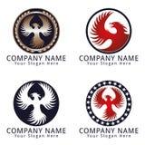 Phoenix Bird Concept Logo Stock Photo
