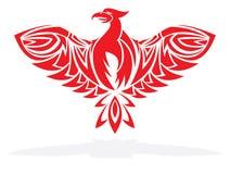 Phoenix bird  illustration Royalty Free Stock Photo