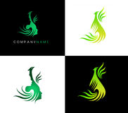 Phoenix Bird Logo Royalty Free Stock Photography