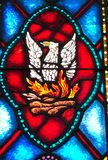 Phoenix Bird Rises from. Taken at St Mary Church in Biloxi, MS on March 23 royalty free stock photography