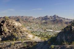 Phoenix, côté est, AZ Photo stock