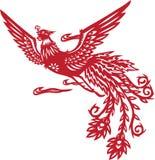 Phoenix chinês Imagens de Stock Royalty Free