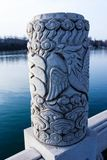PHOENIX COLUMN  IN XIANGYANG  FROM AL royalty free stock photo