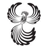 Phoenix con le ali aperte Fotografia Stock