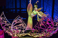 """Phoenix-Dance drama """"The Dream of Maritime Silk Road"""". Dance drama """"The Dream of Maritime Silk Road"""" centers on the plot of two generations of a royalty free stock image"""