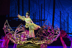 """Phoenix-Dance drama """"The Dream of Maritime Silk Road"""". Dance drama """"The Dream of Maritime Silk Road"""" centers on the plot of two generations of a Stock Images"""