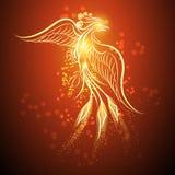 Phoenix de aumentação Fotografia de Stock Royalty Free