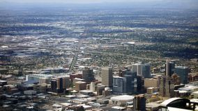 Phoenix de stad in, Arizona Royalty-vrije Stock Foto's