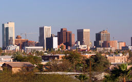 Phoenix de stad in, AZ Stock Fotografie