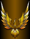 Phoenix. This design is about a myth which we all know about Royalty Free Stock Photos