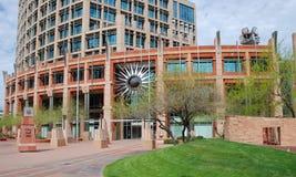 Phoenix downtown stock photo