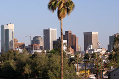 Phoenix Downtown, AZ Royalty Free Stock Photos