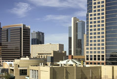 Phoenix downtown city office buildings Stock Photography