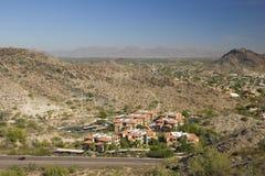 Phoenix e Scottsdale, AZ Imagem de Stock