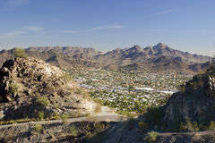 Phoenix, East Side, AZ Stock Photo