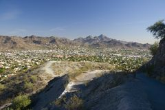 Phoenix, East Side, AZ Royalty Free Stock Photo