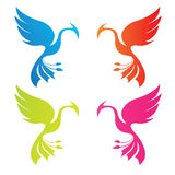 Phoenix färg Arkivfoton