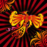 Phoenix fågel Arkivbilder