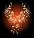 Phoenix fågel Royaltyfri Fotografi