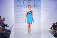 2012 Phoenix Fashion Week runway shows Royalty Free Stock Image